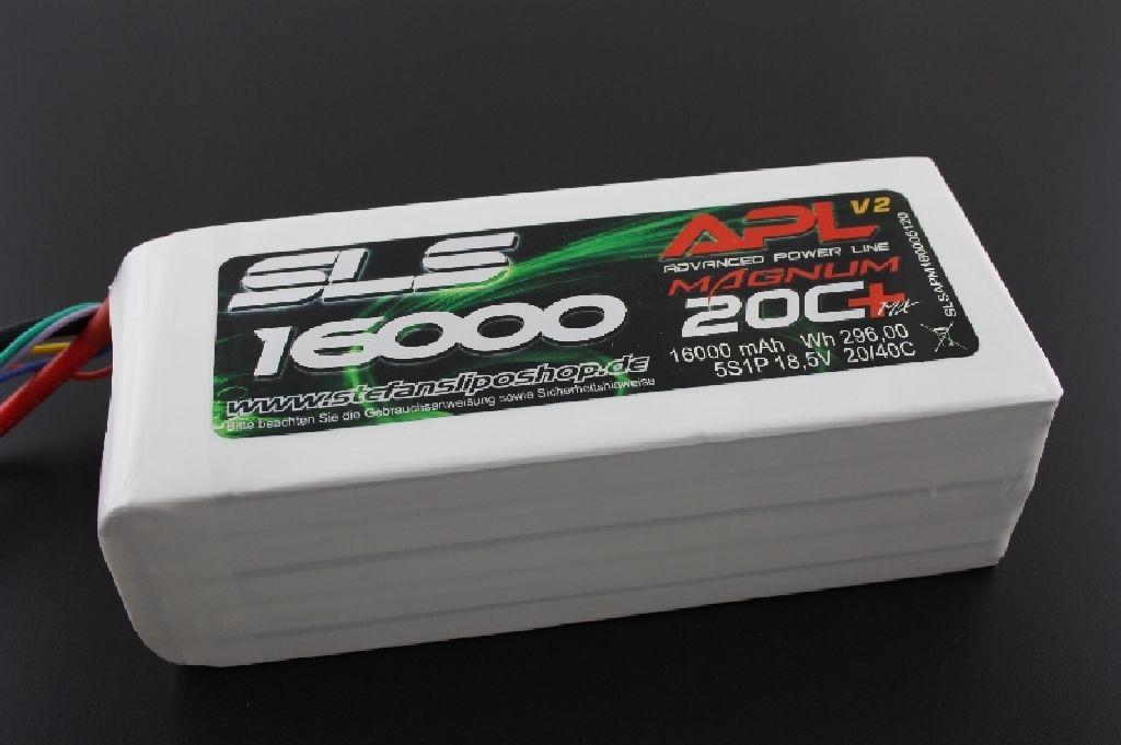 SLS APL 16000mAh 3S1P 11,1V 20C+/40C