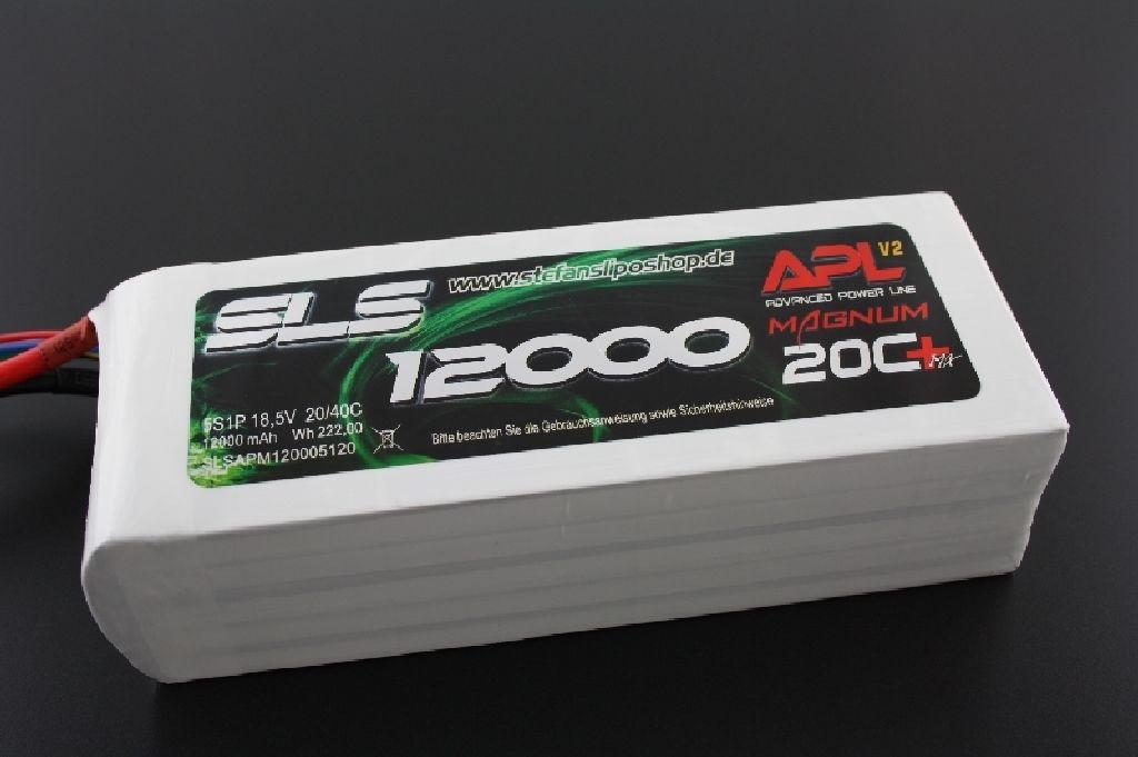 SLS APL 12000mAh 5S1P 18,5V 20C+/40C
