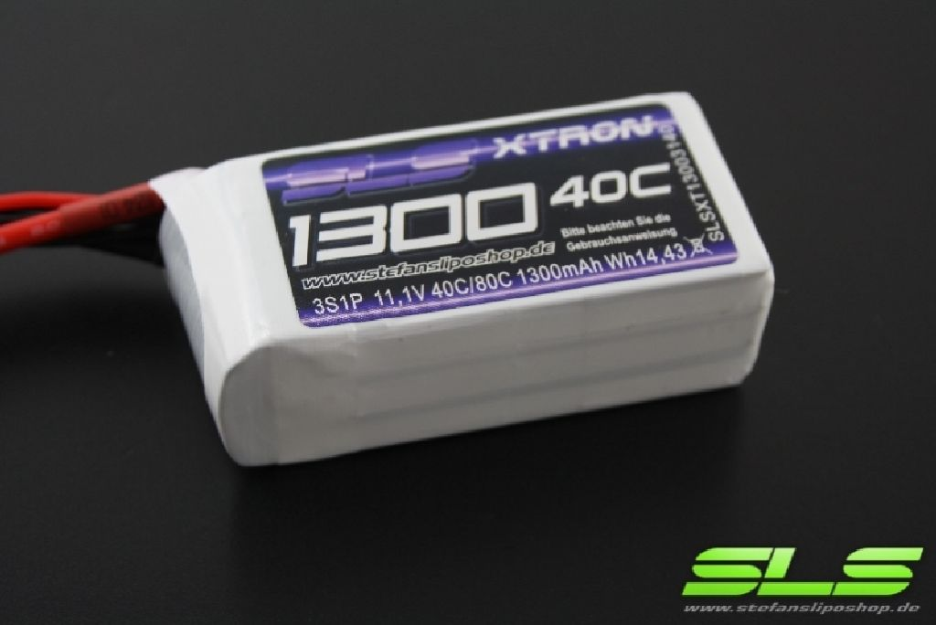 SLS XTRON 1300mAh 3S1P 11,1V 40C/80C