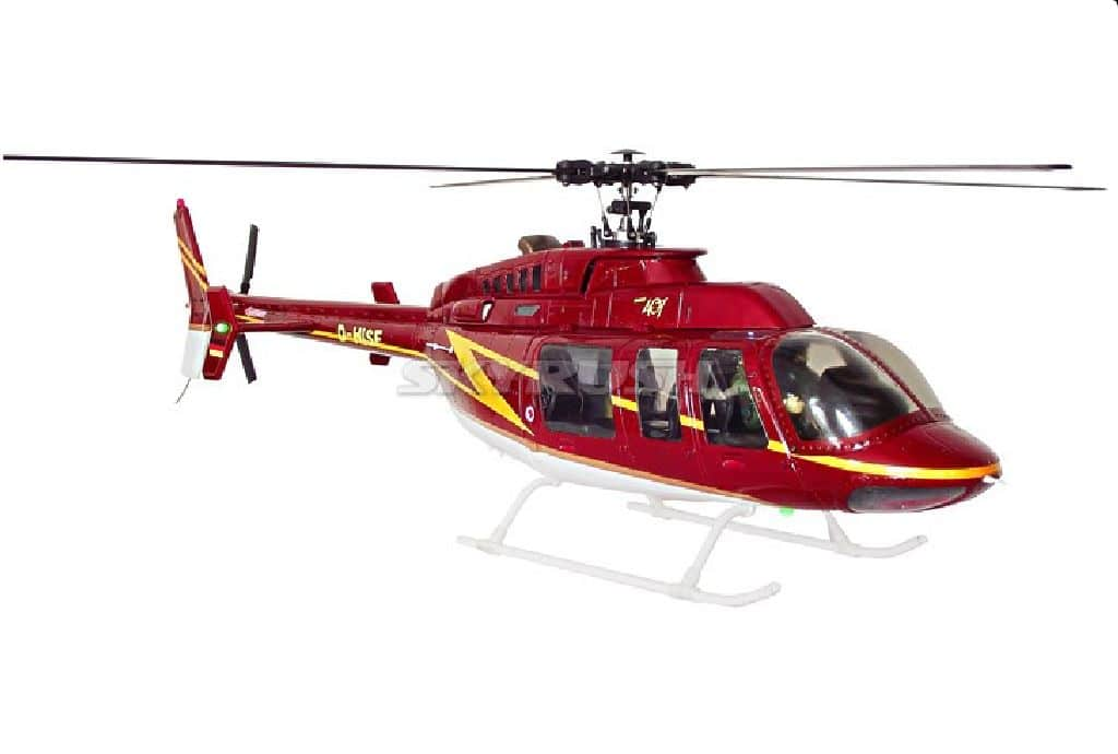 Bell 407 TRUE SCALE 470 COMPACTOR