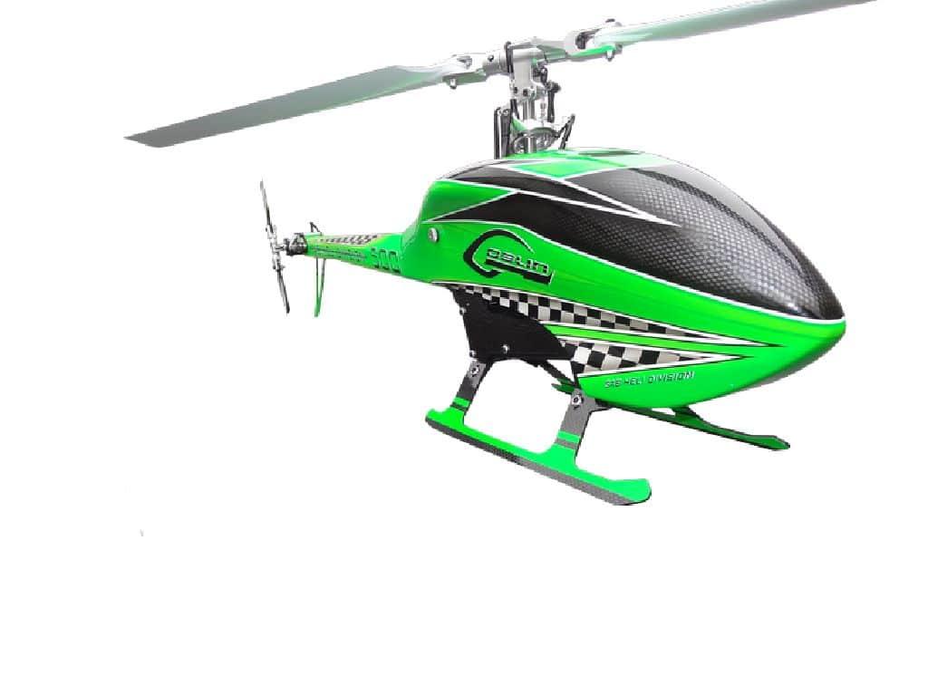 SAB Goblin 500 Racing Green *Sonder Edition*