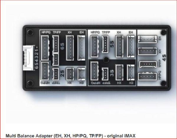 iMAX Balancer Adapter EH/XH/TP/FPHP/PQ für 2S - 6S