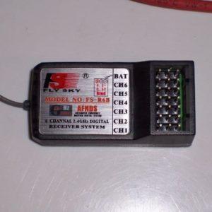 6 Kanal FlySky 2,4Ghz FS-R6B Empfänger für CT6B Sender