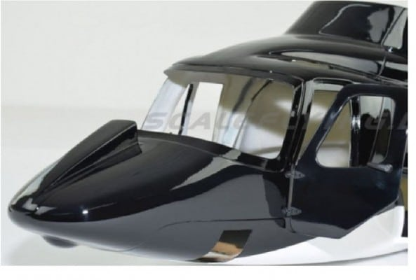 Frontnase Airwolf Roban Rumpf 600er Türversion
