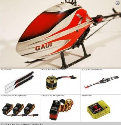 GAUI X2 Super Combo Kit