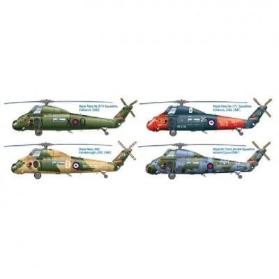 Wessex UH5 Helicopter 30th Anniv Falklands War Decals PKM Rumpf 500