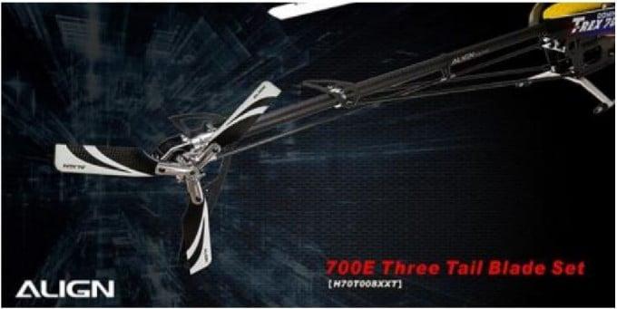 Align 3 Blatt Heckrotor T Rex 700/800