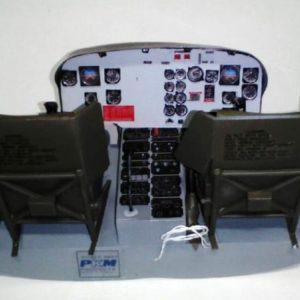 Cockpit Bell 205/212 für 500er Größe von PKM