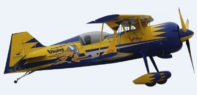 AIRPLANE PITTS M-12 (2500 MM) VERSION KIT