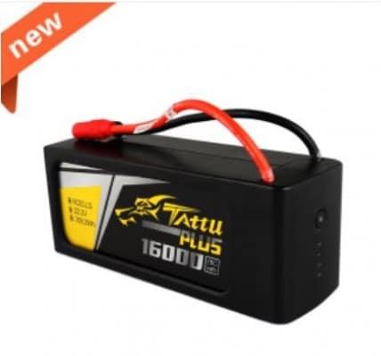 Tattu Plus 16000mAh 6S 15C 22.2V
