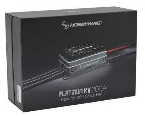 Platinum Pro 200A HV 5-14s BEC NO für 700-800 Class Heli 3D