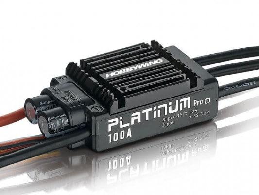Platinum Pro 100A 2-6s BEC 10A für 480-550 Heli 3D und .70 C