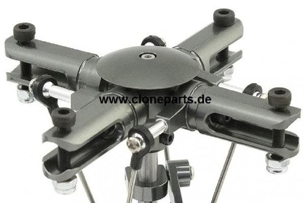 CopterX 450 4 Blatt Hauptrotorkopf RIGID für 450er Heli's