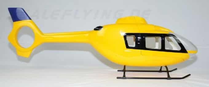 Scale Rumpf Roban EC 135 Gelb