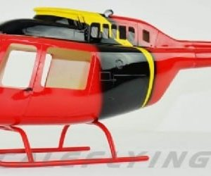 Scale Rumpf Roban Bell 206 News Chopper