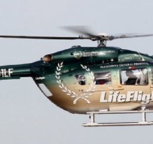 Scale Rumpf Roban EC145 Life Flight