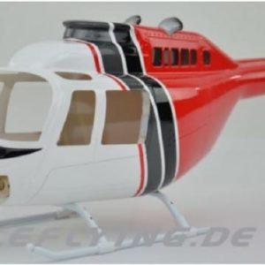 Scale Rumpf Roban Jet Ranger 206 W/S/R