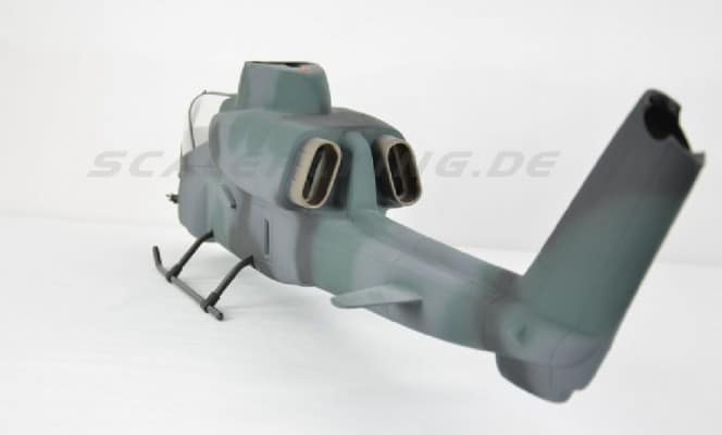 Roban Scale Rumpf Bell AH-1 Cobra Camouflage