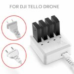 4 in 1 Tello Battery Multi Charger Intelligent Charging Hub For DJI Tello Drone NEW