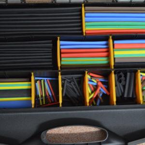 Schrumpfschlauch Sortiment im praktischen Koffer