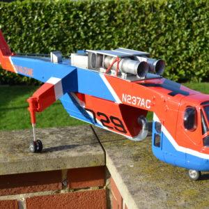 Sikorsky Skysrane S64 F Erickson Aircrane Lackierung