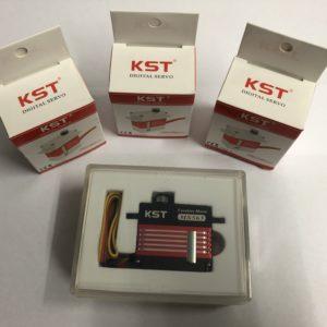 KST DS215MG V3.0 Digital Servo + MS565 Heck Servo für 450-500 Helicopter