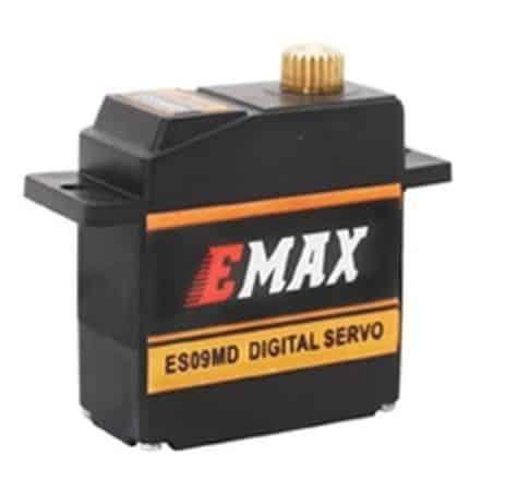 Emax ES09MD Digital Metallgetriebe Mini Servo 15g 0,08s 2,6kg Kugellager ES08MD