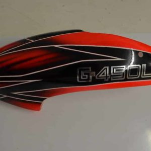 Canopy GFK Haube 450L Garett