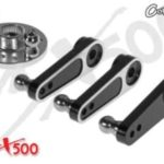 Servo Arme Aluminium für 500er Futaba Align Savox ACE Orion